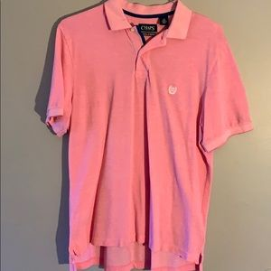 Chaps Natural Stretch Solid Polo